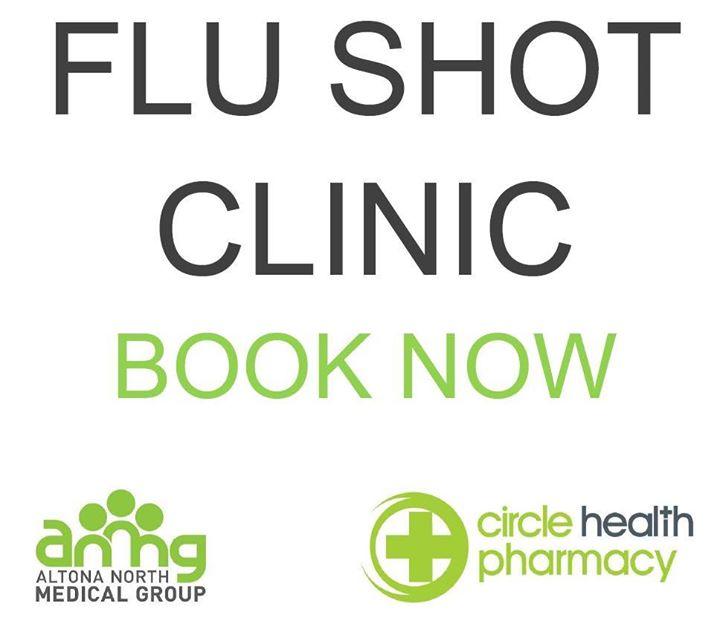 FLU SHOT CLINIC – BOOK NOW